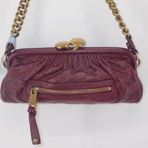 Vtg Marc Jacobs Mini Purse with Gold Chain Strap